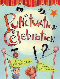Punctuation marks come alive in this clever picture book featuring fourteen playful poems. Periods stop sentences in a baker's shop, commas help a train slow down, quotation marks tell people what to do, and colons stubbornly introduce lists.