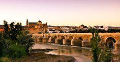 """Puente romano de Córdoba. Entrada """"Andalucía romana"""" (14-11-15), en el blog """"Individuo-Sociedad-Cultura-Espacio"""". Enlace: http://cienciashumanasysociales.blogspot.com.es/2015/11/andalucia-romana.html"""