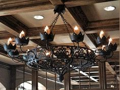ILLUMINARIES specializes in wrought iron chandeliers, rustic light fixtures that add a touch of tradition to any open indoor and outdoor space. Wrought Iron Light Fixtures, Wrought Iron Chandeliers, Rustic Light Fixtures, Rustic Chandelier, Rustic Lighting, Tuscan Style Bedrooms, Spanish Colonial Decor, Industrial Ceiling Lights, Rustic Exterior