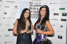 winners of Scottish hair and beauty awards 2012