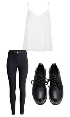 """""""summer outfit"""" by alexa-barnes on Polyvore featuring River Island, H&M, women's clothing, women's fashion, women, female, woman, misses and juniors"""