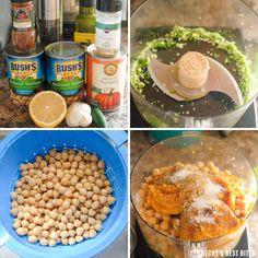 Spiced Pumpkin Hummus | beckysbestbites.com