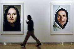 Algunos de los retratos de Ronald Fischer. | E. Carrascal