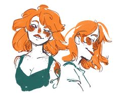 "spongeping: ""nami looks different everytime i draw her, here's one with fuller hair """