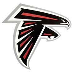 Applied Icon NFL Atlanta Falcons Outdoor Logo Graphic- Small, Red