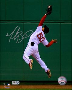 88f54a165e7 Mookie Betts Boston Red Sox Autographed 8