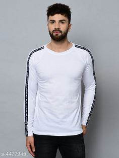 Tshirts Designer Men T-Shirts Fabric: Cotton Sleeve Length: Long Sleeves Pattern: Printed Multipack: 1 Sizes: S (Chest Size: 36 in Length Size: 27 in)  XL (Chest Size: 42 in Length Size: 30 in)  L (Chest Size: 40 in Length Size: 29 in)  M (Chest Size: 38 in Length Size: 28 in) Country of Origin: India Sizes Available: S, M, L, XL   Catalog Rating: ★4 (482)  Catalog Name: Trendy Men Tshirts CatalogID_646305 C70-SC1205 Code: 992-4477945-576