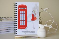 London illustrated notebook travel journal coffee Tower | Etsy  #london #londontravel #londongift #londonart #londonnotebook #londonphonebox #englishphonebox #towerofbridgelondon #londonchic #londonshopping #travellondon #linednotebook #spiralnotebook #elegantgift Arc Planner, Planner Inserts, Planner Pages, Happy Planner Cover, Mini Happy Planner, London Shopping, London Travel, Lined Notebook, London Art