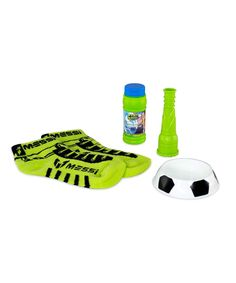 Look what I found on #zulily! Green Leo Messi FootBubbles Starter Pack by Messi FootBubbles #zulilyfinds