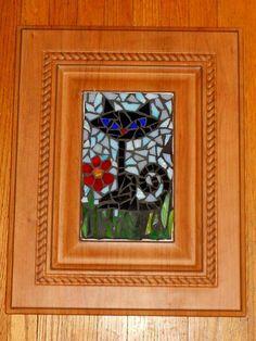 Black Cat Mosaic
