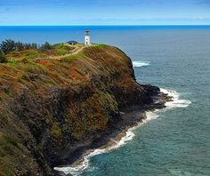 Kilauea Lighthouse, Kauai, Hawaii...Ive always wanted to go to the top of a lighthouse and look out