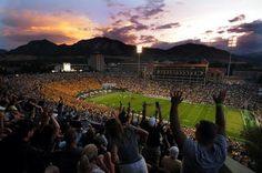 College football has officially started! No better place to enjoy it than Folsom Field.
