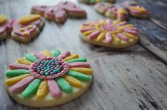 """Hello spring!"" cookies"