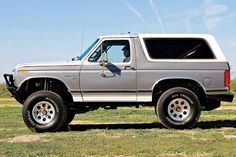 0808or 11 Z 1980 Ford Bronco Under Cover Brothers Exterior Side View