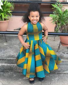 Kids fashion Show Poster - Kids fashion Videos Logo - - Vintage Kids fashion Princesses African Dresses For Kids, African Wear Dresses, Latest African Fashion Dresses, African Print Fashion, African Children, African Attire, Ankara Fashion, African Men, Kids Party Wear Dresses