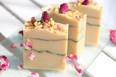 natural soap by naport, rose soap