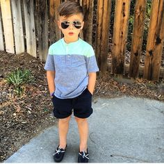 Stunning 36 Perfect Summer Boy Outfits Ideas That Will Inspire You Boys Summer Outfits, Little Boy Outfits, Summer Boy, Style Summer, Toddler Boy Fashion, Little Boy Fashion, Toddler Boy Outfits, Outfits Niños, Baby Boy Outfits