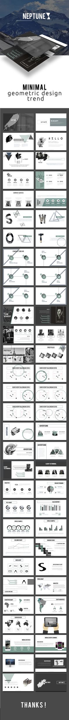 Buy Neptune Powerpoint Template by mnsk on GraphicRiver. Neptune Powerpoint Template This is Creative and Minimalist Presentation Template, perfect for multipurpose uses. Page Layout Design, Web Design, Slide Design, Book Design, Graphic Design, Design Presentation, Presentation Boards, Pptx Templates, Design Templates