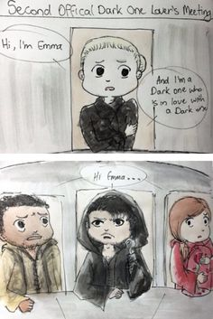 """""""Second official Dark One lover's meeting"""" ^^ by @JvoSketches"""