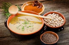 Harira - Châtelaine ou soupe marocaine - version vegetalienne