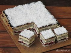 Ciasto Weselna Dama Sweet Bakery, Homemade Cakes, Cake Cookies, Tiramisu, Ale, Good Food, Cooking Recipes, Sweets, Bread