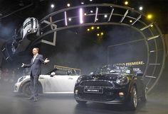 North American International Auto Show in Detroit on January 9, 2012. Mini Cooper