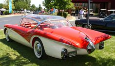 1956 Buick Centurion Concept Car - by carphoto  That glass top is killing me! I am so in love!