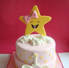 Estrellas Fondant Cake Topper comestible por SweetCakeByAnastasia