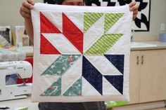 Photo from Las Vegas Modern Quilt Guild Meeting