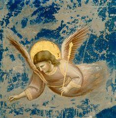 Titre de l'image :  Giotto (di Bondone) - La présentation de Jésus au temple (détail)