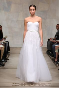 Reem Acra - Cherry Blossom at the Fashion Show