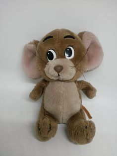 df0b526f7 Tom and Jerry Mouse 1987 Plush Stuffed Animal 7 by Hamilton Gifts, Tom And  Jerry