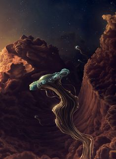 The jellyfish space travel by *1maginate on deviantART
