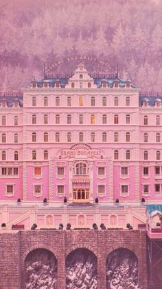 The Grand Budapest Hotel dir. Wes Anderson The Grand Budapest Hotel dir. Wes Anderson The post The Grand Budapest Hotel dir. Wes Anderson appeared first on Film. Grand Hotel Budapest, Hotel Budapest Movie, Beau Film, Isak & Even, Wes Anderson Movies, Wes Anderson Poster, Grande Hotel, Film Aesthetic, Foto Art