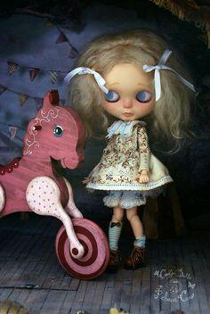 Strawberry Circus by Rebeca Cano