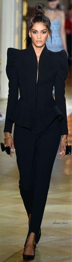 Rainie Stoneham saved - Rosamaria G Frangini | ColorDesire Black | Ulyana Sergeenko Spring 2016 Couture