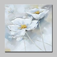 100% Hand-Painted Flowers Oil Paintings On Canvas Modern Abstract Wall Art Picture For Home Decoration With Stretched Frame Ready To Hang 5392711 2017 – €49.97