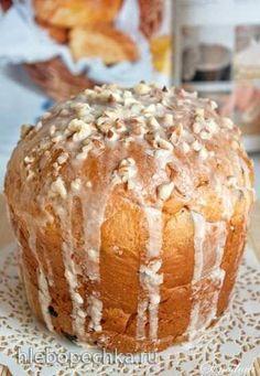 Кулич а-ля панеттоне Russian Tradition -  Easter sweet Bread !!!