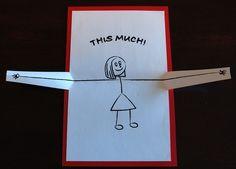 Te quiero... Esta tarjeta pop-up mucho por PeadenScottDesigns