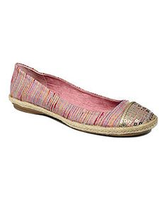 Style Shoes, Pearl Espadrille Flats Web ID: 662875