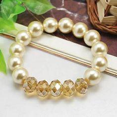 Perlas con cristales
