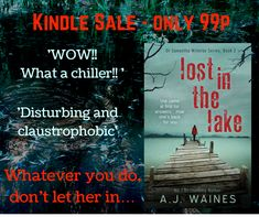 Lost in the Lake down to 99p for short time! Grab while you can!  www.ajwaines.co.uk