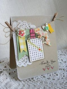 Thank You Card via Precious Remembrance Shop