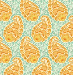 Fabric Heirloom 'Paisley' Amber Joel by SouthernSeamsFabrics, $8.50