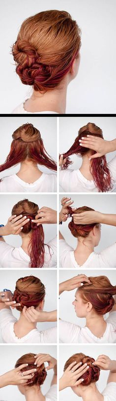 How to style we hair in minutes without a comb!
