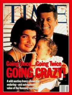 The Kennedy's had made the T magazine because they were the prince and princess of the country at that time. Everyone knew about the Kennedy's no matter if they liked them or not. The Kennedy's didn't even have to pose or they kid wouldn't have to pose and they would still be known as the perfect family and royal family. I chose this photo because it shows people that everyone knew about the Kennedy family because it was all over in the news, magazines, and more.