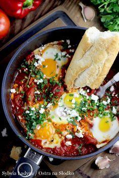 Najlepsza Tunezyjska Szakszuka Shakshouka Tasty Dishes Recipes Keto Recipes Dinner