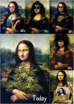Mona Friends, Sweet Memes, Mona Lisa Parody, Mona Lisa Smile, Monalisa, Art Jokes, Funny Moments, Funny Things, Good Spirits