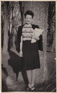 1940s womens fashion #1940s #1940sfashion