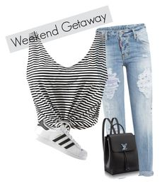 """""""#1"""" by jackier547 ❤ liked on Polyvore featuring Dsquared2 and adidas"""